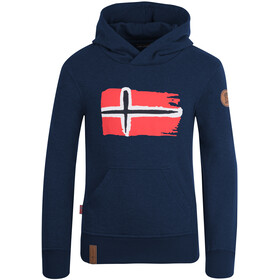 TROLLKIDS Trondheim Sweat-shirt de survêtement Enfant, navy
